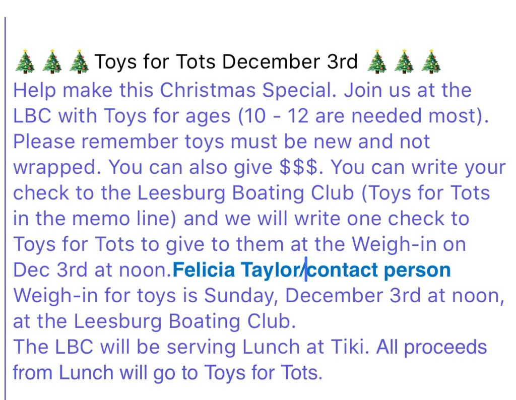 Toys For Tots 2017